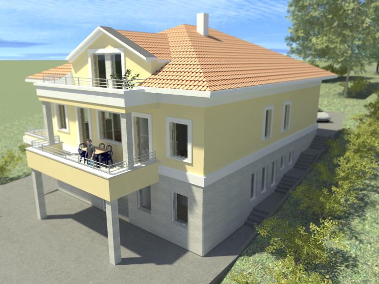 Porodična kuća u Ripnju - projekat izgradnje