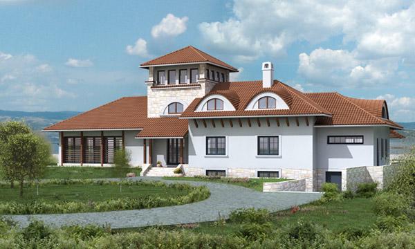 Projekat: Porodična kuća na Srebrnom jezeru